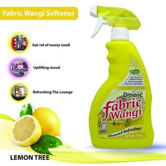 Harga D'MENC FABRIC WANGI NATURAL AROMATIC FABRIC FRESHENER Fabric Refresher Anti Bacterial BEDDING CLOTH Easy Ironing Starch 650ML (Lemon Tree)