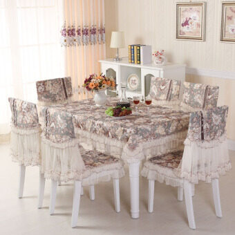 Harga Dance of the star pastoral tablecloth chair cover Fabric