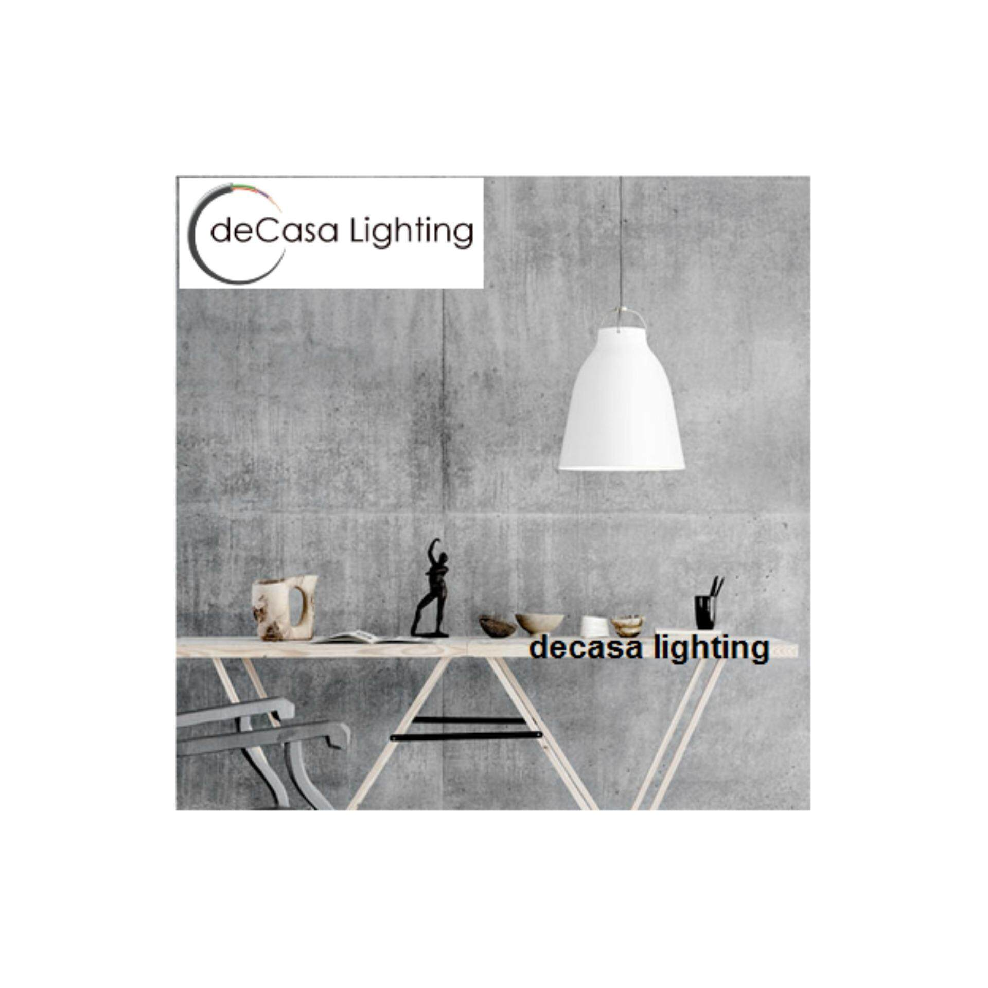 Decasa Designer White Simple Baisc Loft Pendant Light DECASA Designer Ceiling Light (LY-2529-WH)