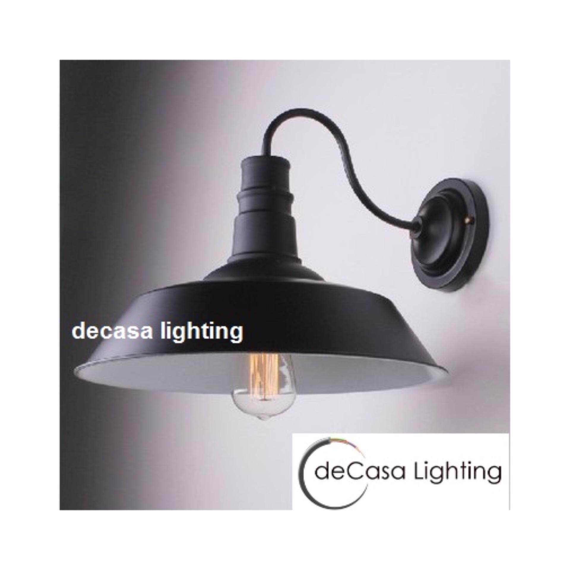 Decasa Lighting Best Seller Decorative Wall Lights (Black) DECASA WALL LIGHT (LY-RQY-011)