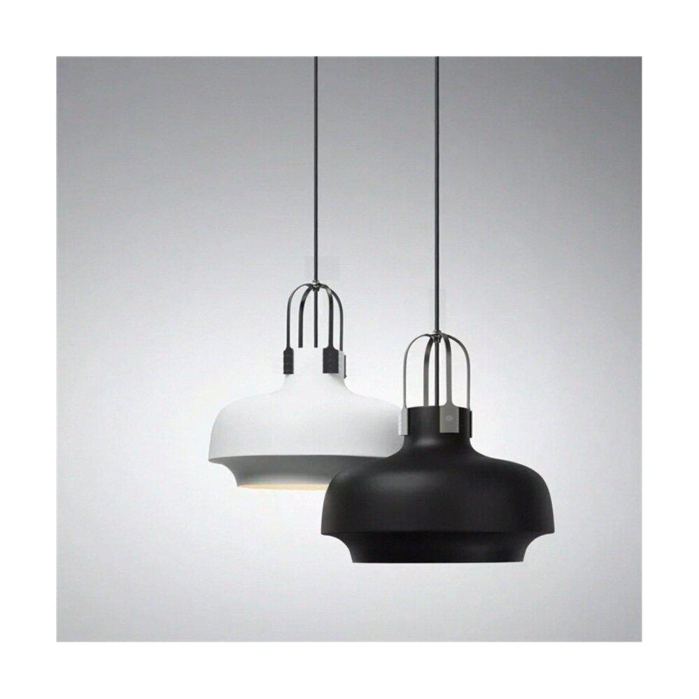 Loft Black Hanging Light Ceiling Light Decorative Cafe Kitchen Designer Light DECASA PENDANT LIGHT (JL-6003-300-BK)