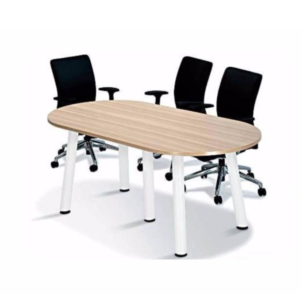 DECO 6 FEET OFFICE TABLE OFFICE DESK OFFICE MEETING TABLE DISCUSSION TABLE WRITING TABLE STUDY TABLE DIRECTOR TABLE BOSS TABLE CLERK TABLE STAFF TABLE CONFERENCE TABLE DINING TABLE RESTING TABLE STAFF TABLE BO18 1800MM(L) X 900MM(D) X 750MM(H)