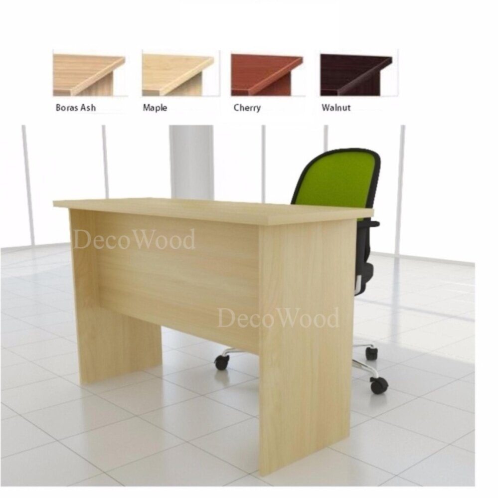 DECO 6 FEET OFFICE TABLE OFFICE DESK OFFICE MEETING TABLE DISCUSSION TABLE WRITING TABLE STUDY TABLE DIRECTOR TABLE BOSS TABLE CLERK TABLE STAFF TABLE CONFERENCE TABLE DINING TABLE RESTING TABLE STAFF TABLE EXT187 L1800MM X W700MM X H750MM