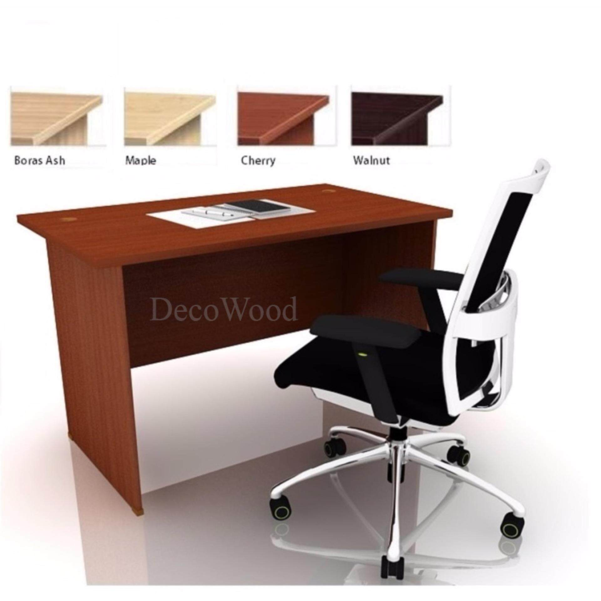 DECO OFFICE TABLE OFFICE DESK OFFICE MEETING TABLE DISCUSSION TABLE WRITING TABLE STUDY TABLE DIRECTOR TABLE BOSS TABLE CLERK TABLE STAFF TABLE CONFERENCE TABLE DINING TABLE RESTING TABLE STAFF TABLE EXT126 1200MM(L) X 600MM(D) X 750MM(H)