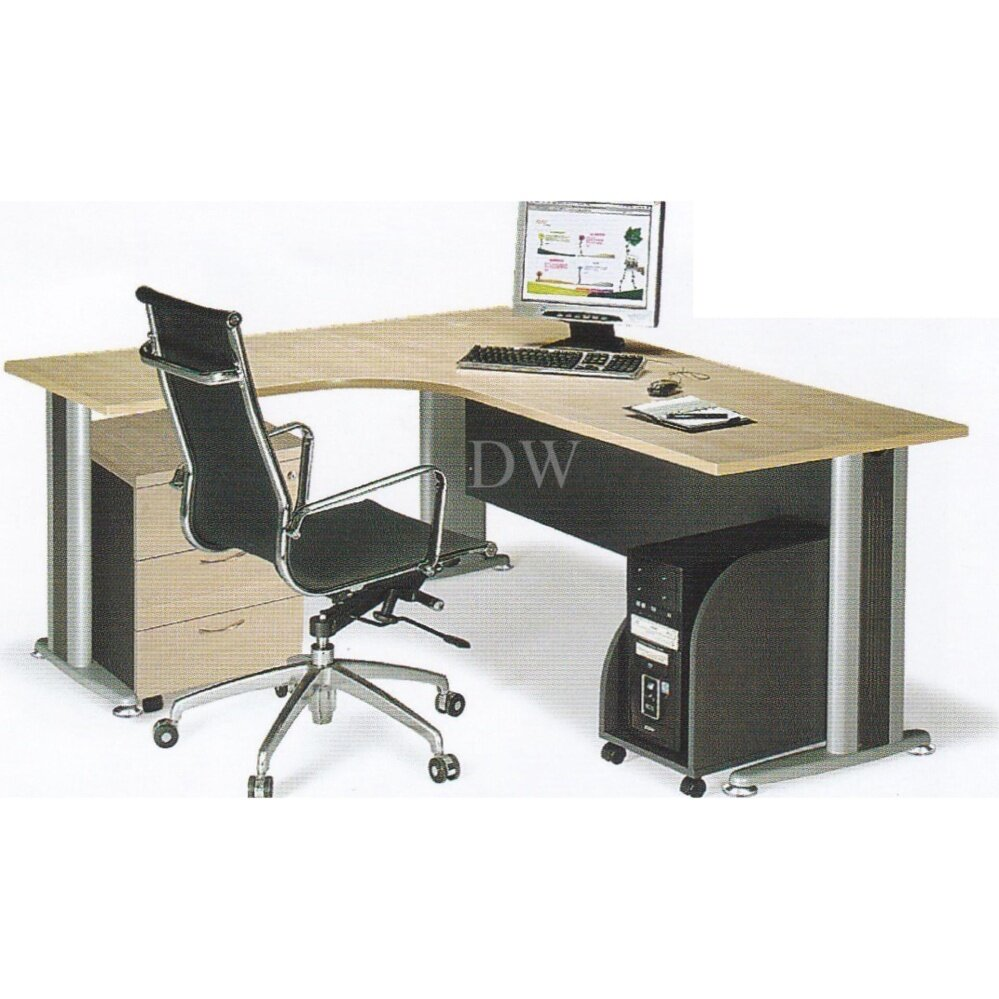 DECO OFFICE TABLE WITH MOBILE DRAWERS OFFICE DESK OFFICE MEETING TABLE DISCUSSION TABLE WRITING TABLE STUDY TABLE DIRECTOR TABLE BOSS TABLE CLERK TABLE STAFF TABLE TL1515