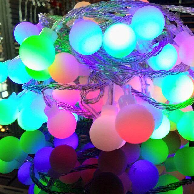 ES Lite Decoration LED round lights, 30 feet