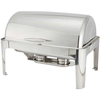 Harga Deluxe Buffet Full Size Roll Top Chafer / Chafing Dish 8.5Liter