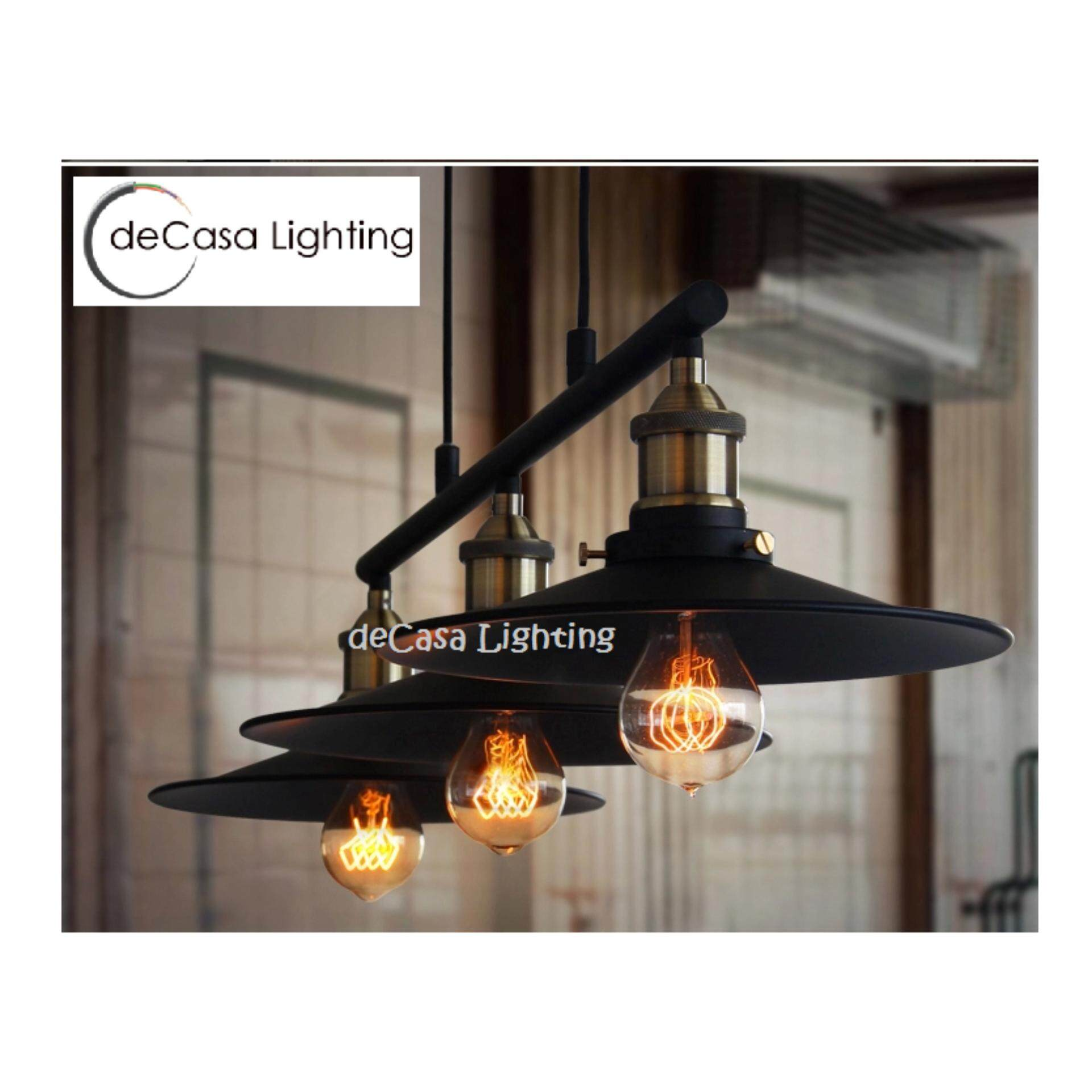 Designer Metal Lamp Shade Hanging Light Bar Counter Kitchen Dining Casual Style Light DECASA Pendant Light (LY-RQK-014)