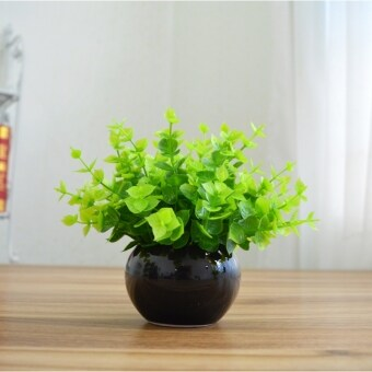 Desk mini potted Milan simulation plants artificial flowersDecoration