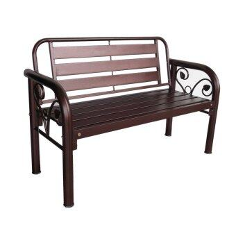Harga D'Home HA KD7109 4' Metal Garden Bench (Copper)