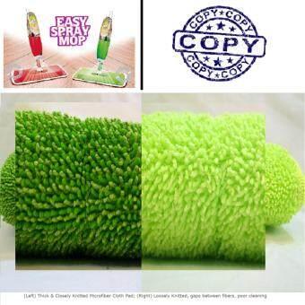 DIGILIFE Heavy Duty Easy Spray Mop with Microfiber Mop Pad Floor Cleaning WYL09 (Green)