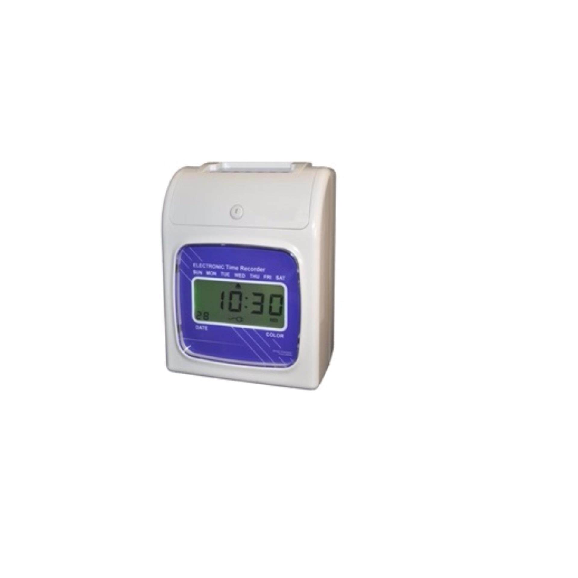 DIGITSCREEN TIME RECORDER PUNCH CARD+ 5 YEARS WARRANTY