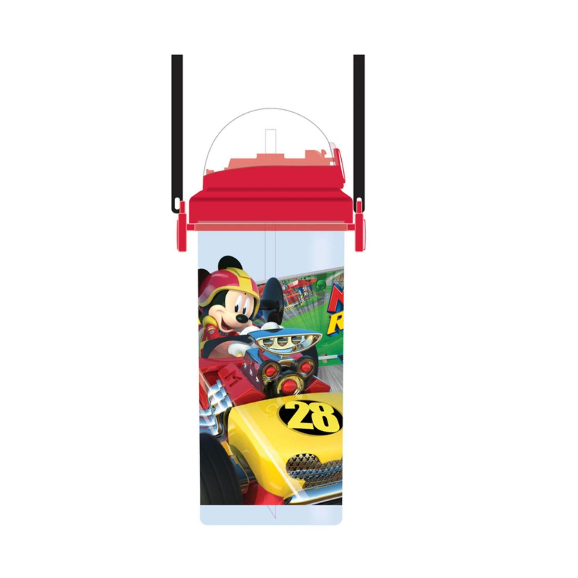 Disney Mickey 650ML Water Bottle - Roadsters Racers