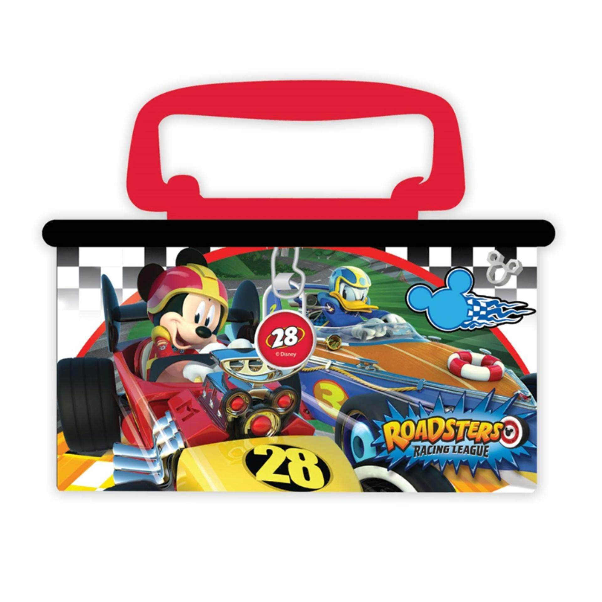 Disney Mickey Coin Bank - Roadsters Racers