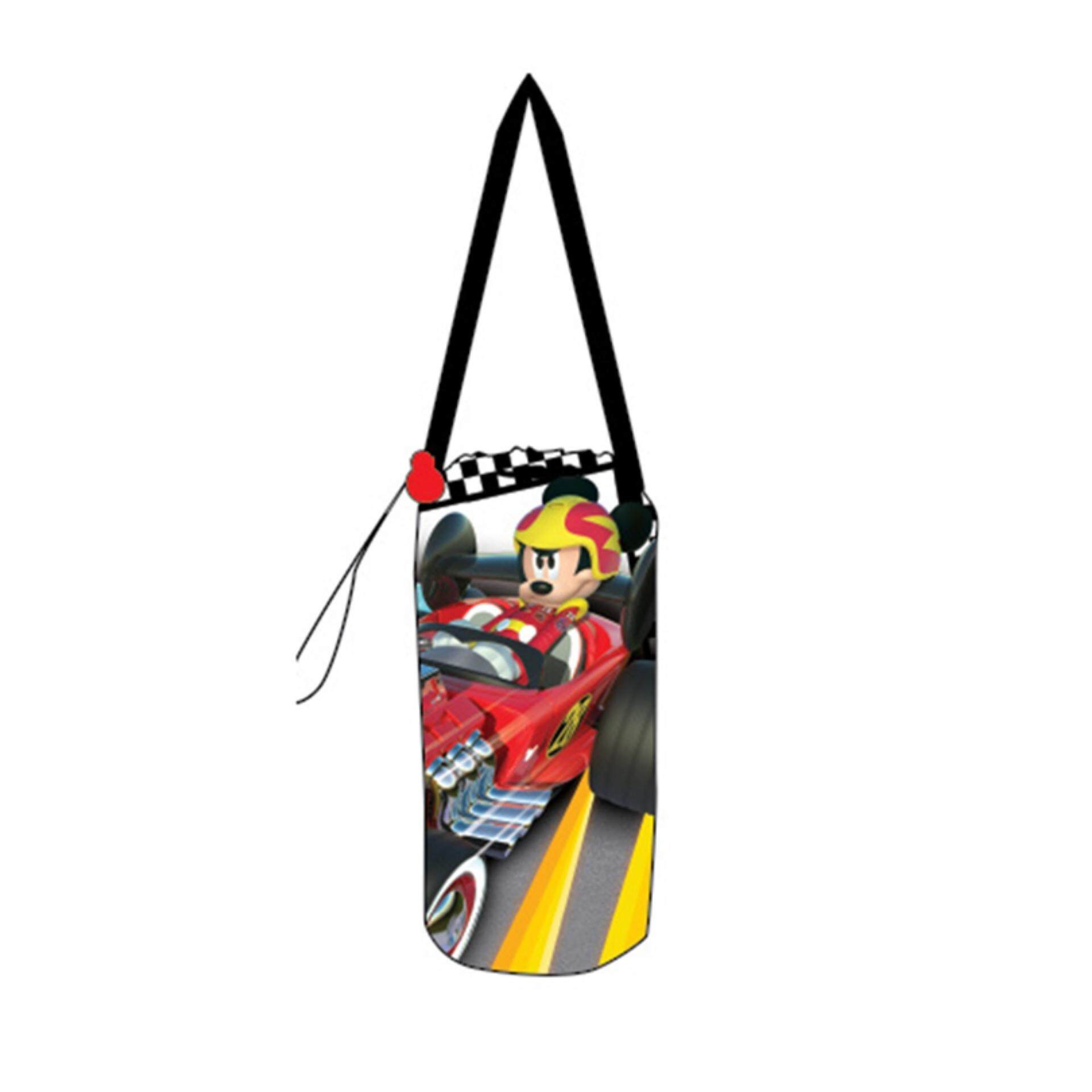 Disney Mickey Water Bottle Holder - Roadsters Racers