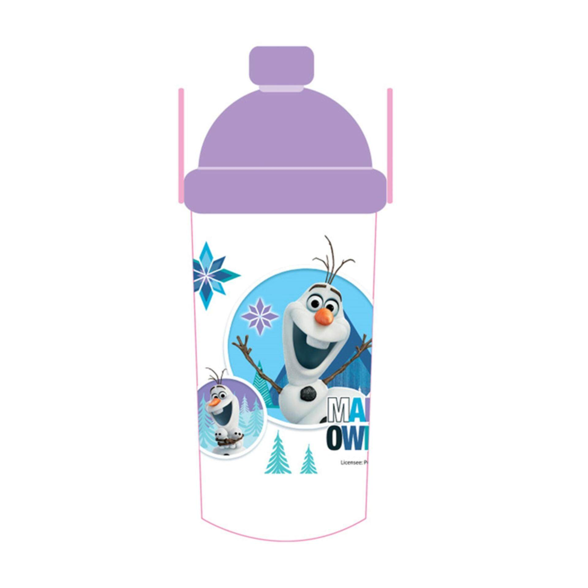 Disney Princess Frozen 350ML Water Bottle - Purple Colour