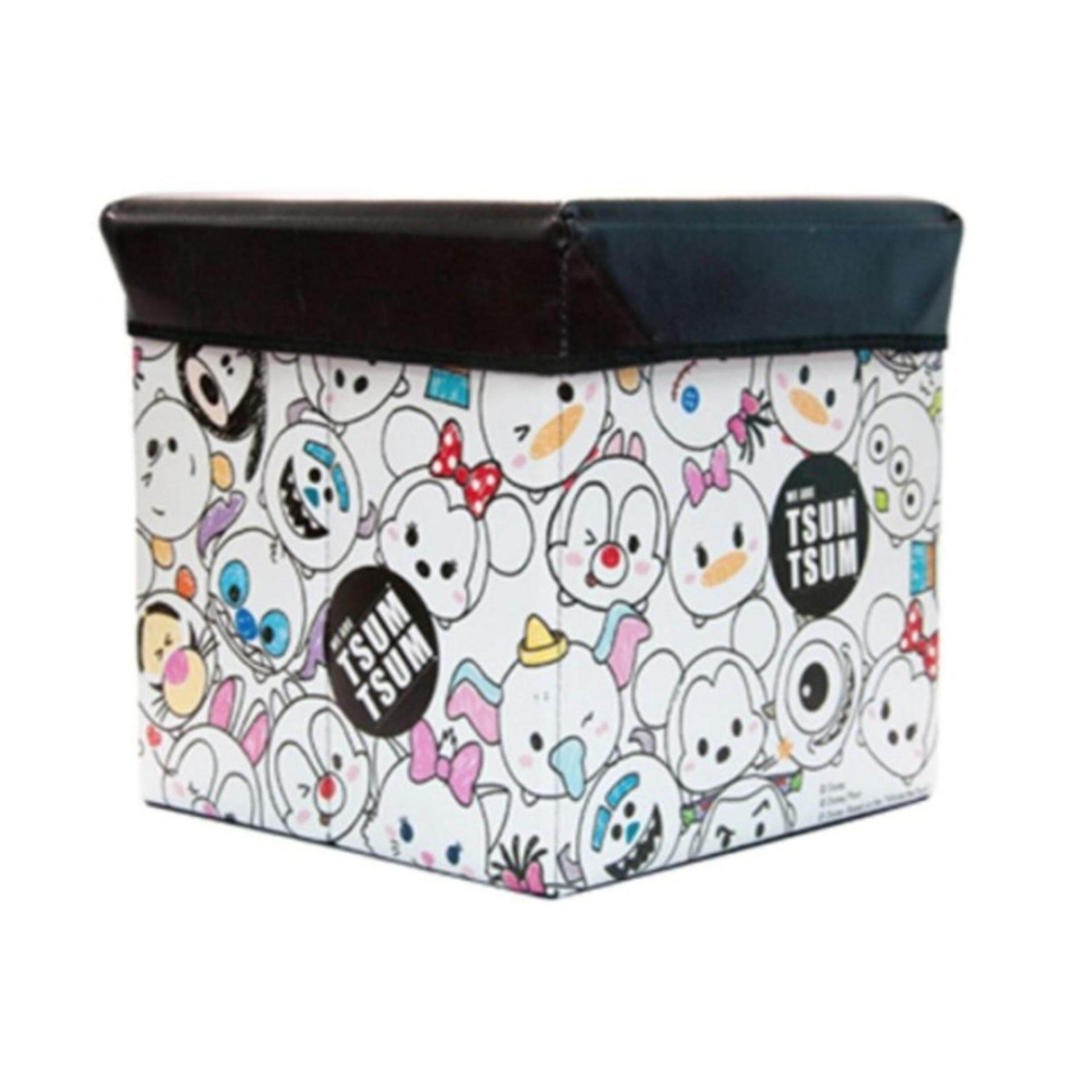 Disney Tsum Tsum Storage Box - Black Colour