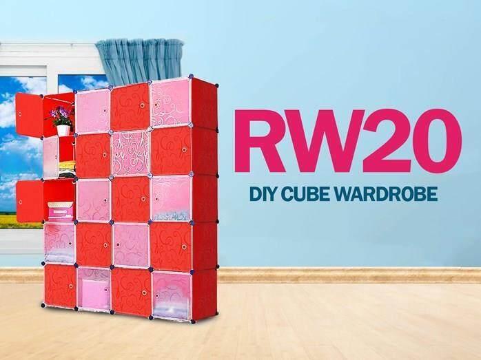 DIY Cube Wardrobe RW20