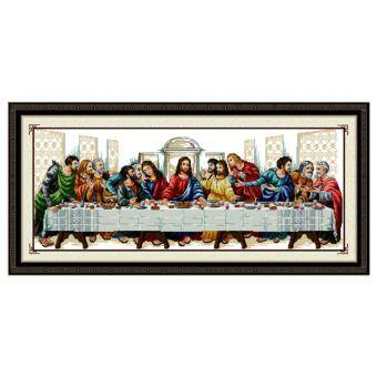 DIY Needlework Handmade Cross Stitch Kits 'The Last Supper'