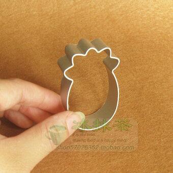 DIY pineapple-shaped pineapple cakes cookie Aluminium Alloy