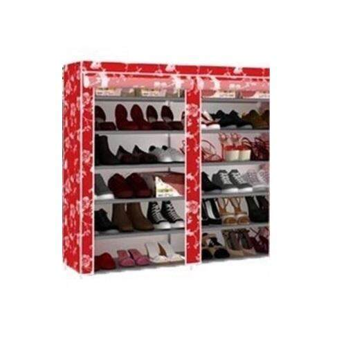 DIY Shoe Rack Red