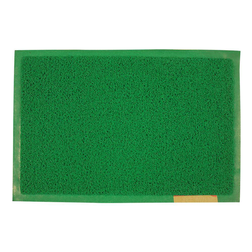Door Mat Green With Border 40cm x 60cm [E4060G]