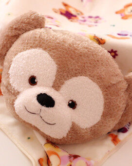 Duffy the Disney cute Two One bear pillow blanket pillow