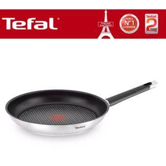 E82406- Tefal Emotion Stainless Steel Non-Stick Frypan 28cm