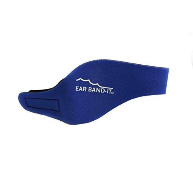 EAR BAND-IT Swimming Headband – Invented by Physician – Keep Water Out, Hold Ear Plugs In – The ORIGINAL Swimmer's Headband – Doctor Recommended – Great for Ear Tubes – Secure Earplugs