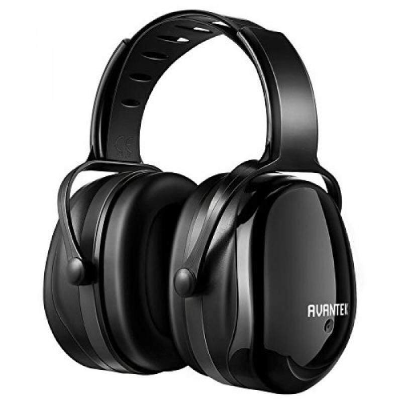 Ear Protection, AVANTEK 34dB NRR Professional Noise Reduction Shooting Hearing Protection Safety Ear Muffs with a Twist Resistant Headband
