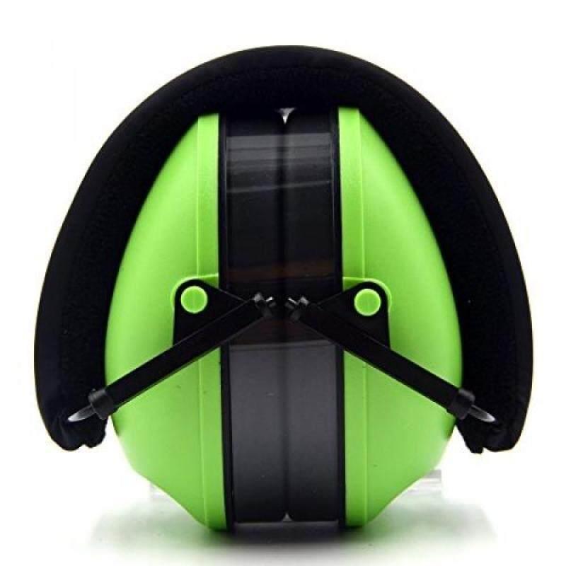 Earmuffs Ear Defenders Toennesen Noise Reduction Ear Protectors with Adjustable Headset Protector Hearing EarMuffs Folding Headphones for Sleeping Concert Shooting Travel Fishing Green