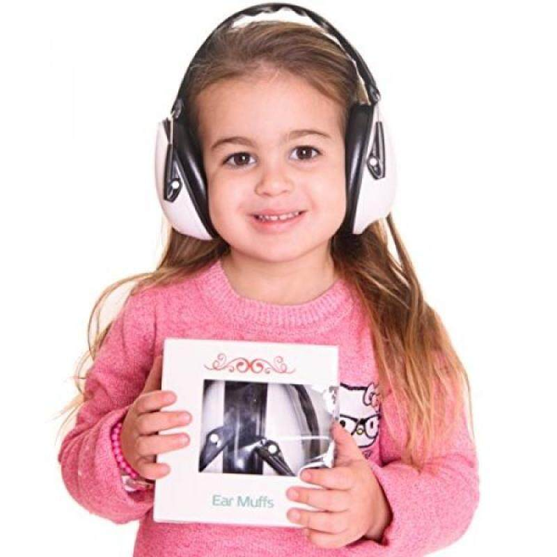 Buy Earmuffs Hearing Protection for Kids & Adults:Absolute Hearing Protection Noise Cancelling Headphones. Baby, Toddler & Infant Airplane Ear Muffs, Sound Blocking Earphones (Black and white) Malaysia