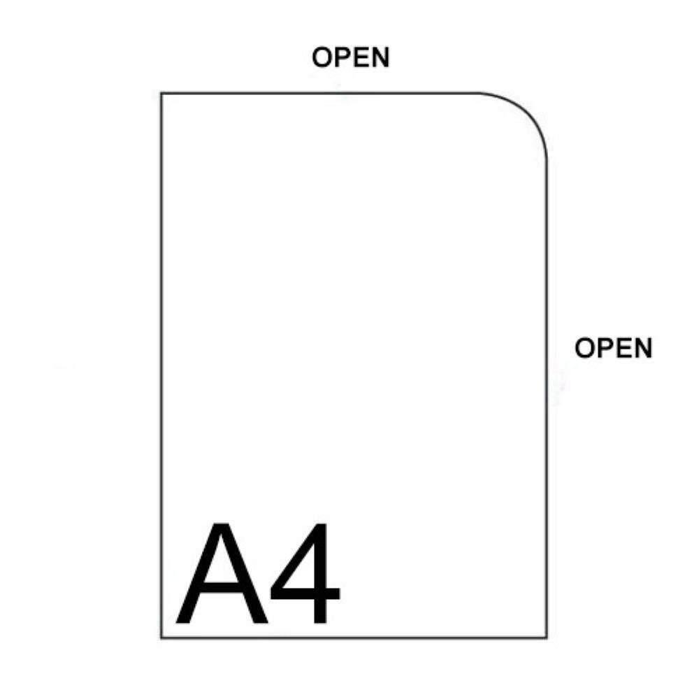 East-File Clear / Transparent - L Shape A4 Folder (Item No: B11-44 LA4) - replace by CBE 1466A