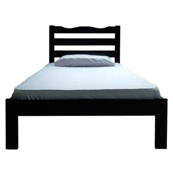 Harga Eco Series F006 Single Bed (Black)