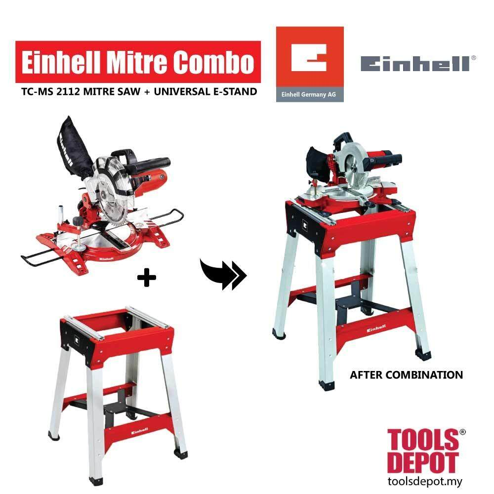 Einhell Mitre Combo: TC-MS 2112 Mitre Saw + Universal E-Stand