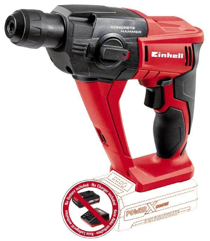 Einhell TE-HD 18 Li Cordless Rotary Hammer - Solo (Without Batteries)