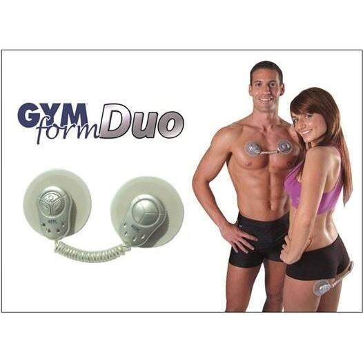 Electronic Muscle Toner Fitness System Body Massager GYM Form Duo therapy massager Unisex Wireless Muscle Stimulation System Silver
