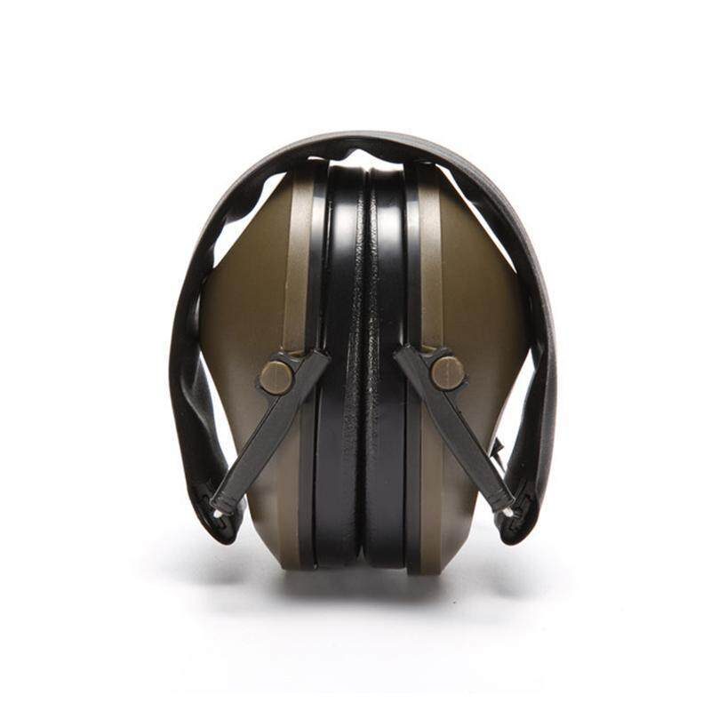 Buy EOZY Anti-noise Impact Sport Hunting Electronic Tactical Earmuff Shooting Ear Protectors Hearing Protection Earmuffs (Army Green) Malaysia