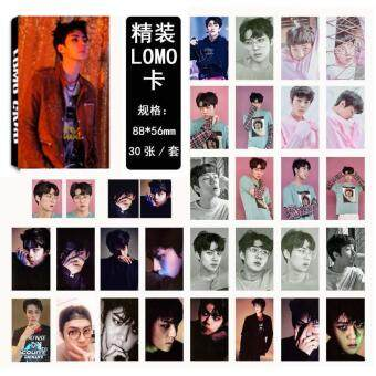 Harga EXO EX'ACT SEHUN Album Kpop LOMO Cards New Fashion Self Made PaperPhoto Card HD Photocard LK407