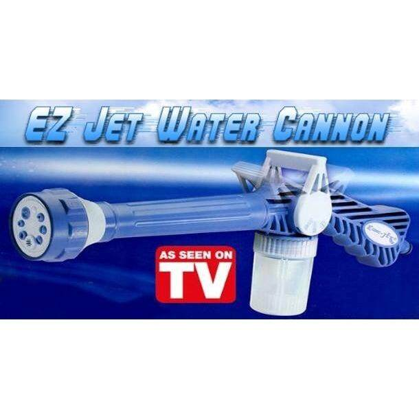 EZ Jet Water Cannon Multi Function Adjustable Pressure Spray for Washing Cleaning Gardening