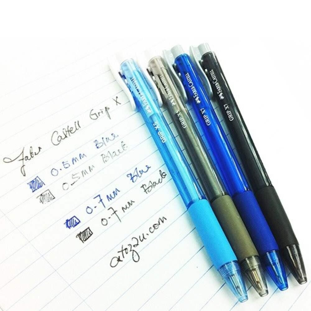 Faber Castell Grip X7 - Ballpoint Pen - Blue (Item No: A02-09 GRIPX7BL) A1R1B26