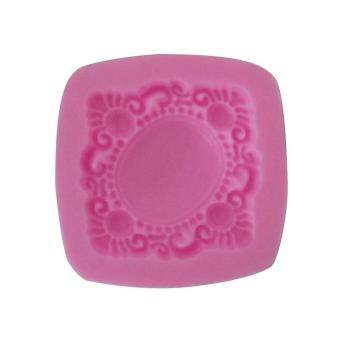 Fang Fang 2016 hot sale 3D Silicone Mold Vintage Brooch Fondant Cake Decorating Tools Cookie Chocolate