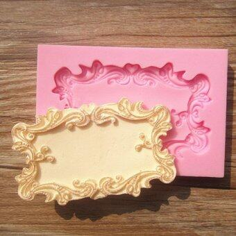 Fang Fang Classical Frame with Lovely Flower Border Decoration Cake Chocolate Mould for the Kitchen Baking