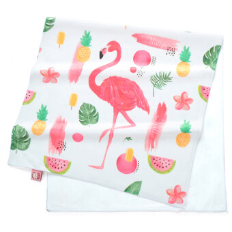 Flamingo series wash ultra-fine fiber beach towel bath towel