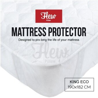 Flew 3 Layer Mattress Protector - King Mattress (6 ft)