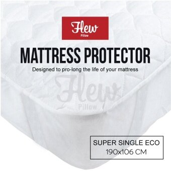 Flew 3 Layer Mattress Protector - Super Single Mattress (3.5 ft)
