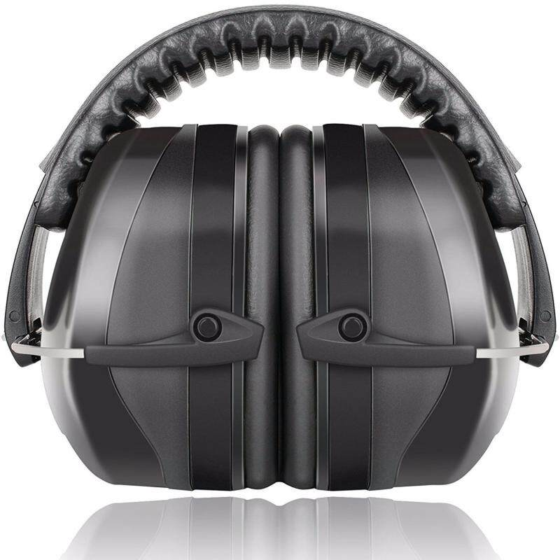 Buy Fnova 34dB Highest NRR Safety Ear Muffs - Professional Ear Defenders for Shooting, Adjustable Headband Ear Protection / Shooting Hearing Protector Earmuffs Fits Adults to Kids (Black2) Malaysia