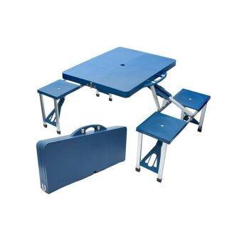 Foldable Picnic Table With 4 Seats Lazada Malaysia