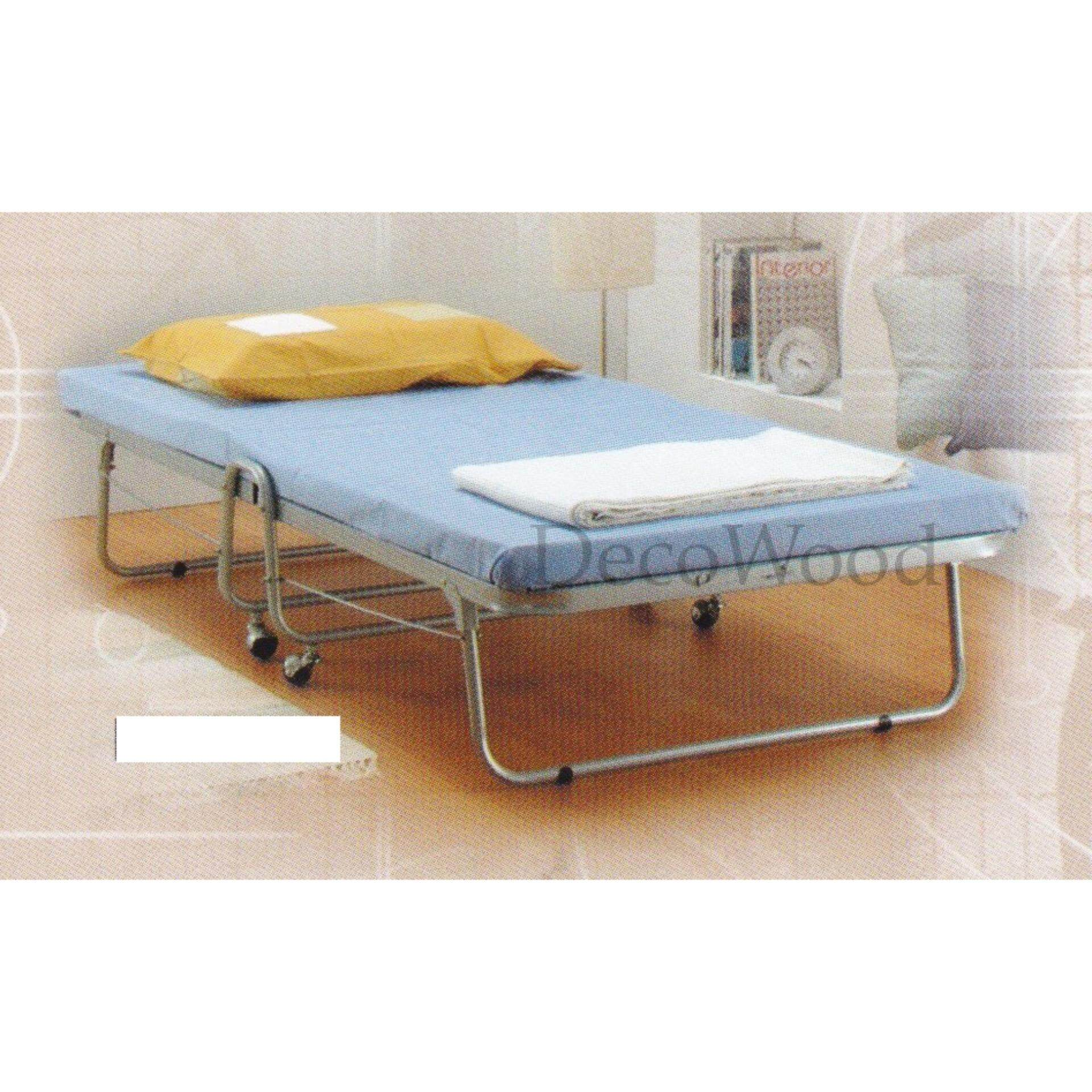 FOLDABLE Single Size Metal Bedframe With Roller/Pull Out Bed...
