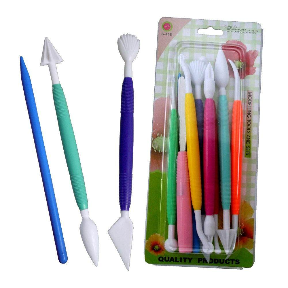 Fondant Cake Decorating Design Tool Carving Pen 10-PCS Set